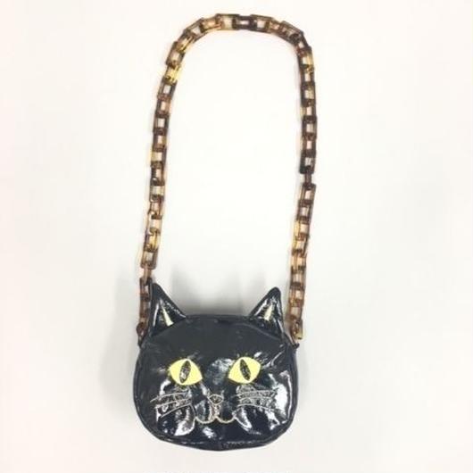 CAT SHOULDER BAG BLACK キャットショルダーバッグブラック