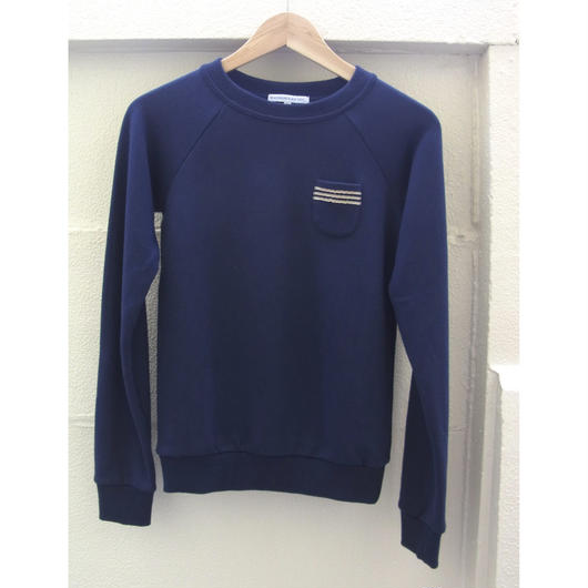 Pocket Sweat Shirt ネイビー