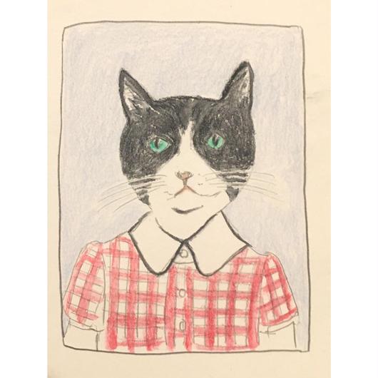 Cat 似顔絵