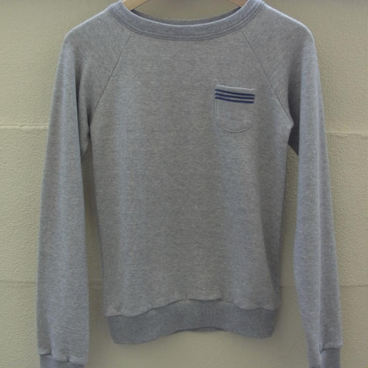 Pocket Sweat Shirt グレー