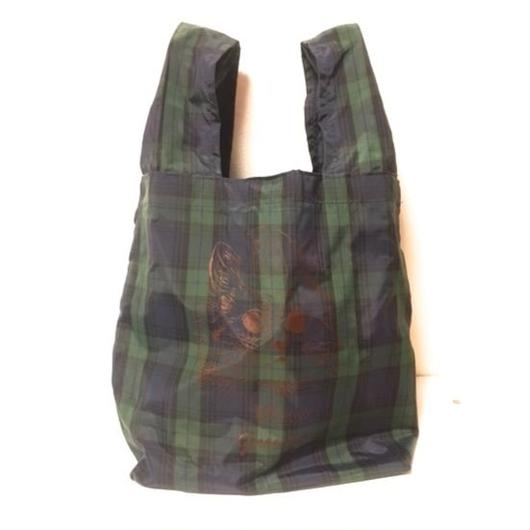 POCKETABLE SHOPPING BAG GREEN 折りたたみショッピングバッグ グリーン