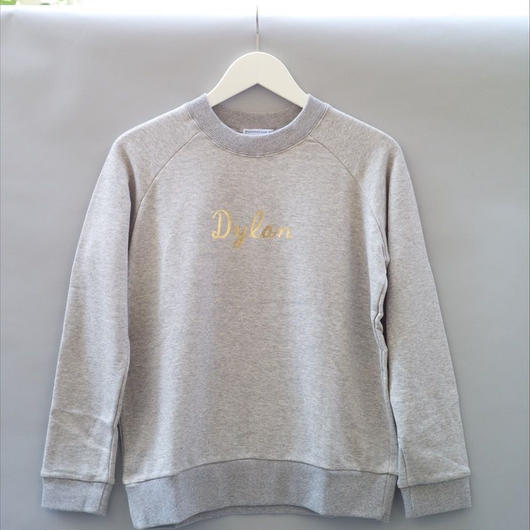 Dylan Sweatshirt / Grey