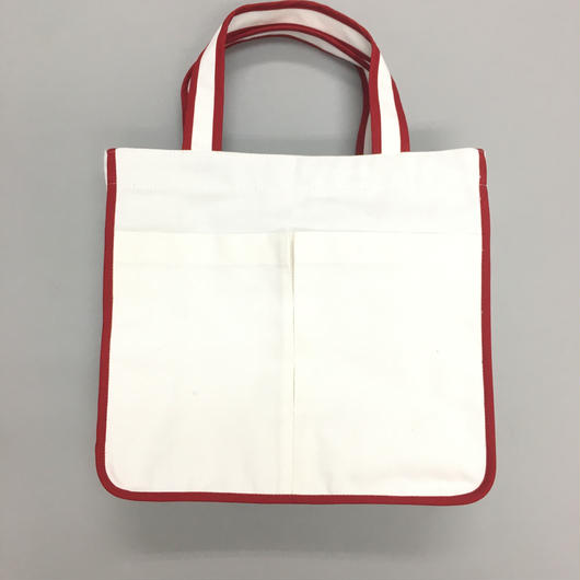 MINI TOTE BAG RED ミニトートバッグRED(名入れ)