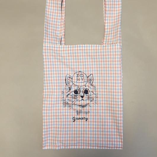 Foldable shopping bag 折りたたみショッピングバッグ ホワイト