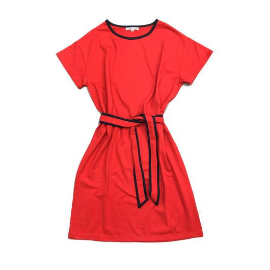 BIG TEE DRESS  RED/ ビッグティードレス レッド