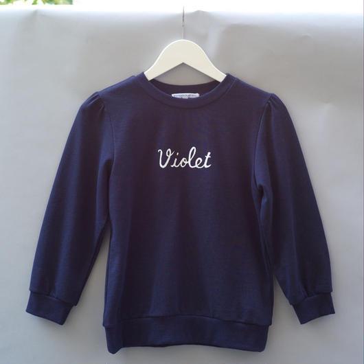 Violet Sweatshirt / Navy