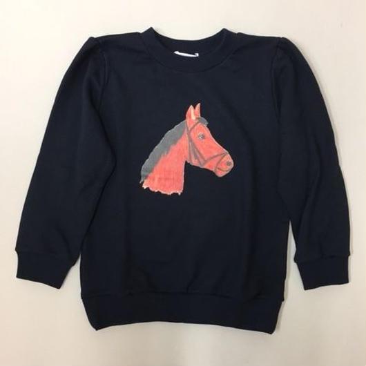 HORSE SWEATSHIRT NAVY ホーススウェット ネイビー