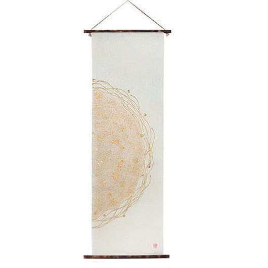 創作和紙 インテリアタペストリー「紙禅」~Shi-Zen和モダン樹脂デザイン 4014