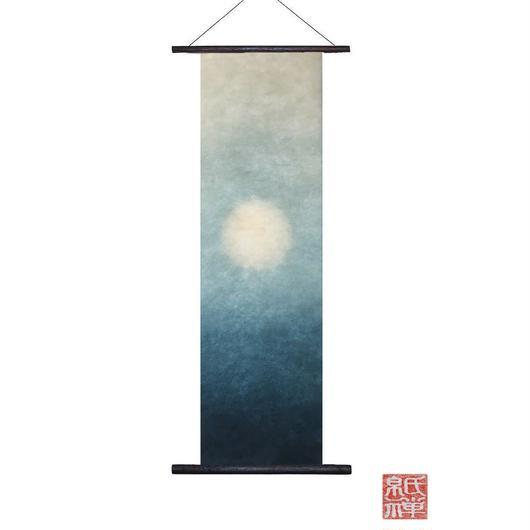 創作和紙 インテリアタペストリー「紙禅」~Shi-Zen/手染め00-01-12