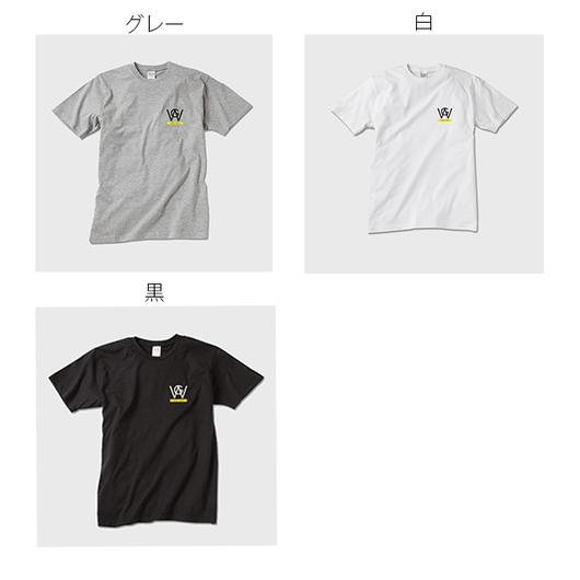 ロゴT2017 白/黒/グレー