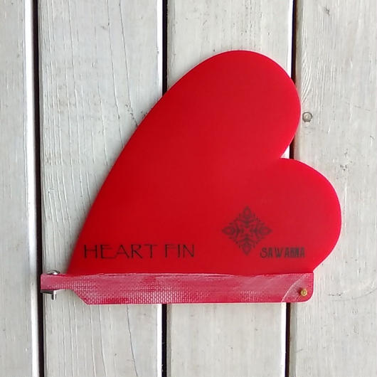 SAWARNA HEART FIN GLASS