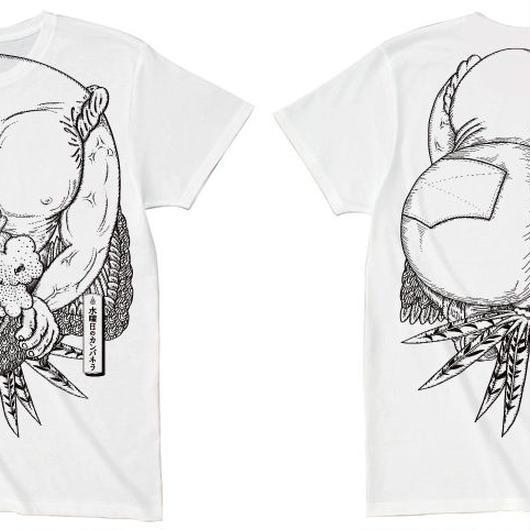鬼退治Tシャツ(白)