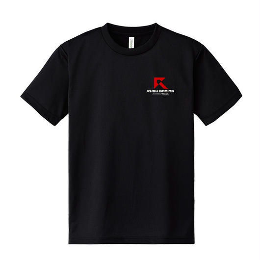 Rush Gaming ドライTシャツ(ブラック)