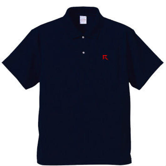 Rush Gaming ドライポロシャツ(ネイビー)