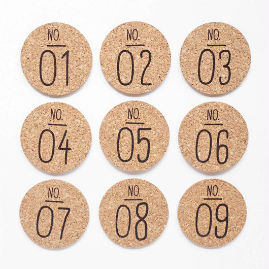 "COASTER SET ""No."""