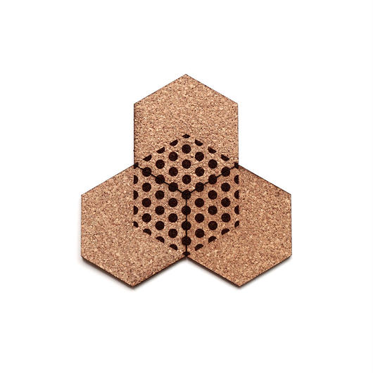 "COASTER ""Hexagon series""  全3種類"