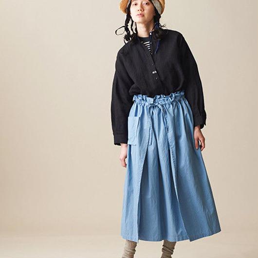 Malle chambre de charme  綿ヘンプシャディー加工 ナイチンゲールスカート