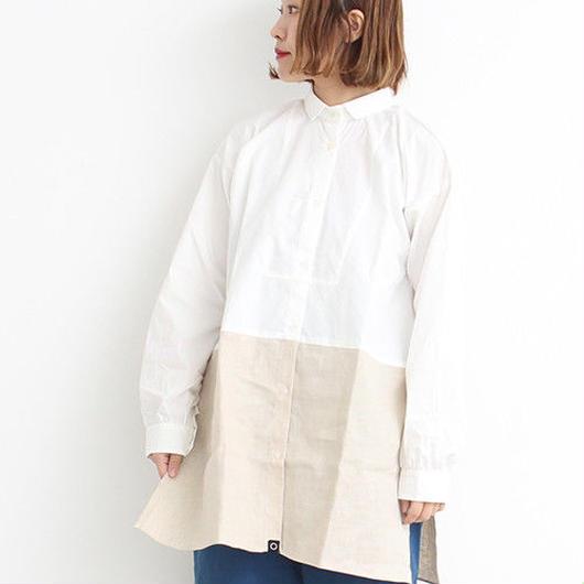 Malle chambre de charme  マルのフレンチ ワークシャツ