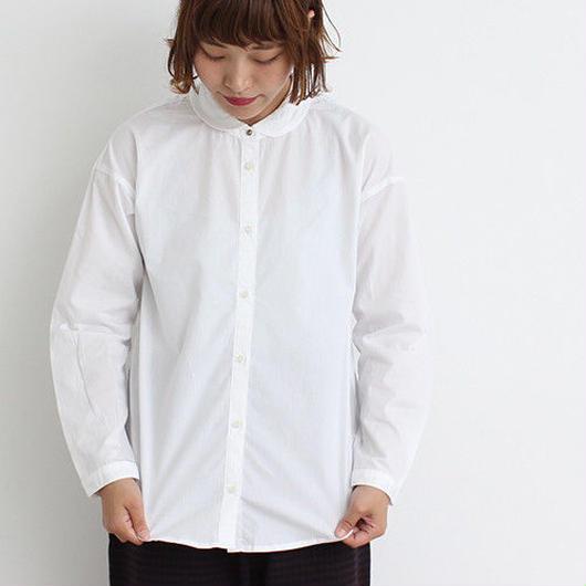 chambre de charme  classic 50ブロード ラウンドカラーシャツ