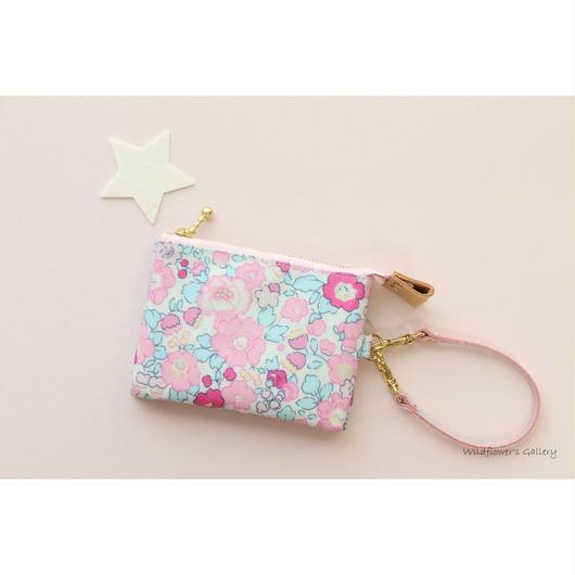 Mini Wallet Liberty Betsy amélie(Classic Rose)