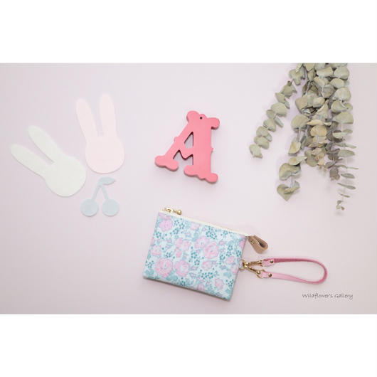 Mini Wallet   Import Liberty   Felicite   Rose Buvard