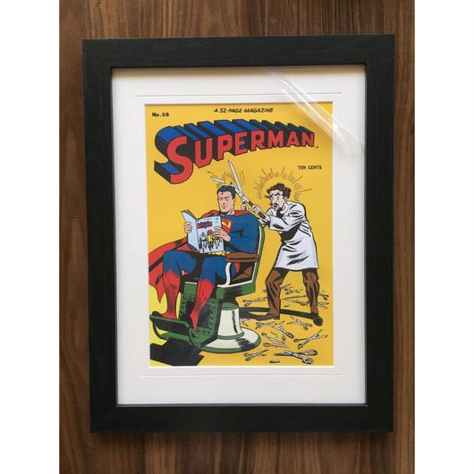 Superman-Barber shop poster