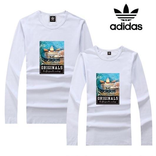 アディダス長袖 上質 秋大人気 男女サイズあり 送料無料 Adidasトレーナー カップル
