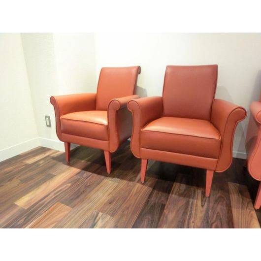 Boris sofa 1 seater(オーダー製作)張地:Type D¥23,000/皮革(画像はTypeA)ー