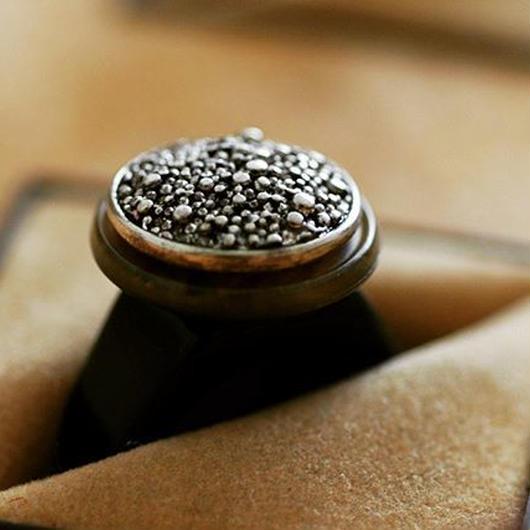Caviar ring【size:13】