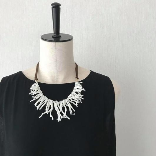 White coral necklace