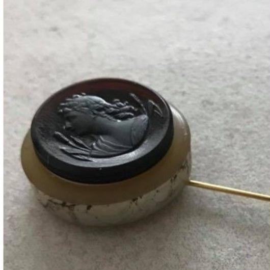 goddess pin【hat pin type】