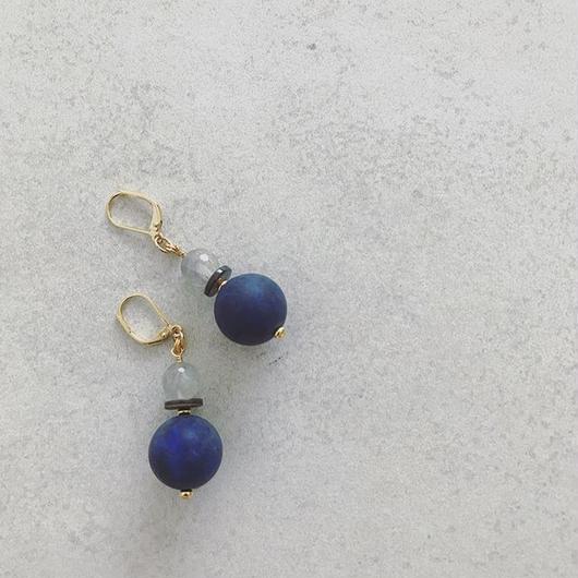 Mat ball pierce  【BLUE】