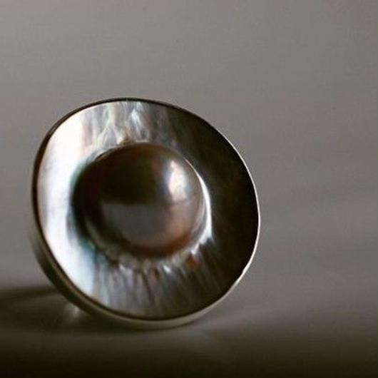 Pearl ring【size:14】