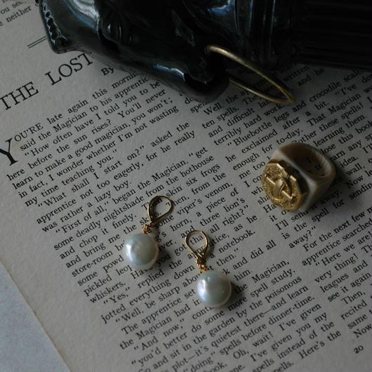 Flat pearl pierce