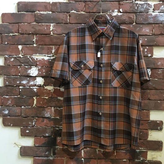 BIGMAC S/S CHECK  SHIRT
