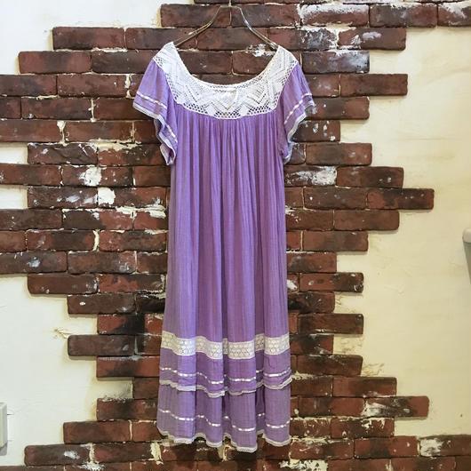 LADIES VINTAGE INDIAN COTTON DRESS
