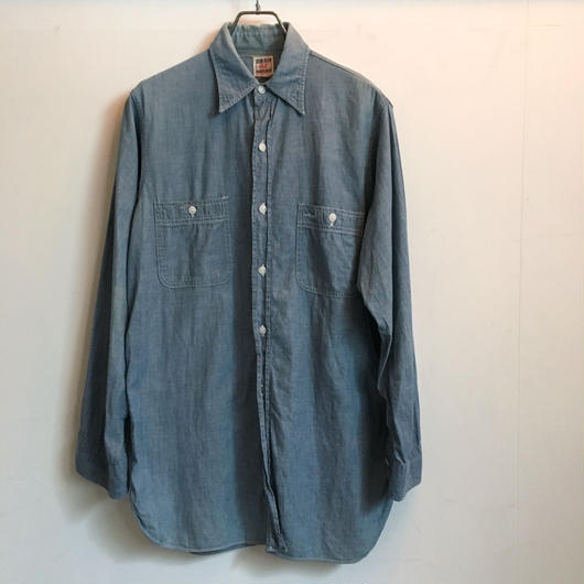 50's OX HIDE CHAMBRAY SHIRT