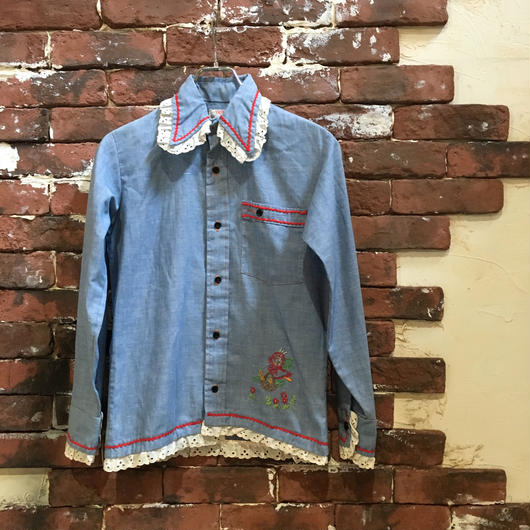 LADIES CHAMBRAY SHIRT