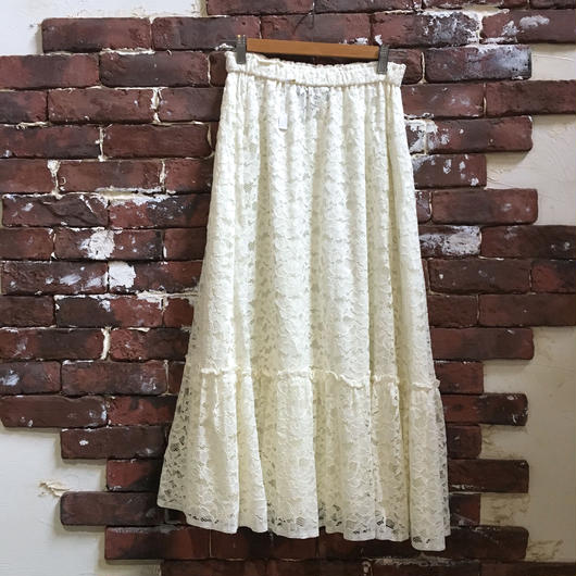 VINTAGE LADIES RACE SKIRT