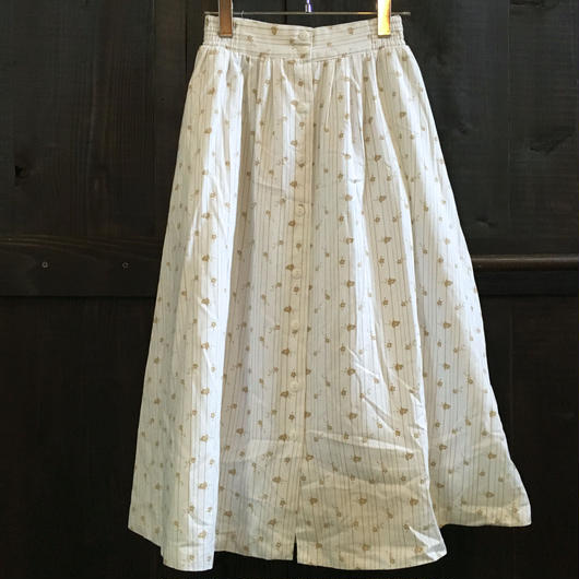 60-70s LADIES COTTON SKIRT