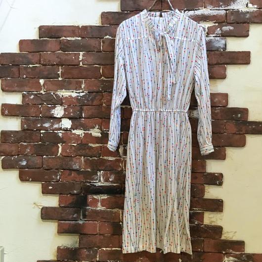 VINTAGE LADIES COTTON DRESS