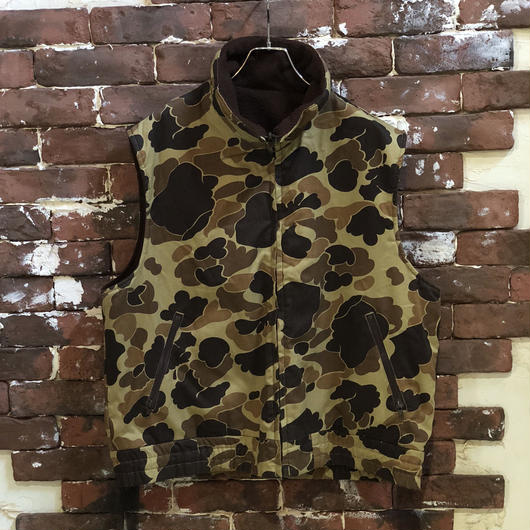 COLUMBIA CAMO × FLEECE VEST