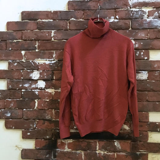 VINTAGE CASHMERE TURTLE NECK KNIT