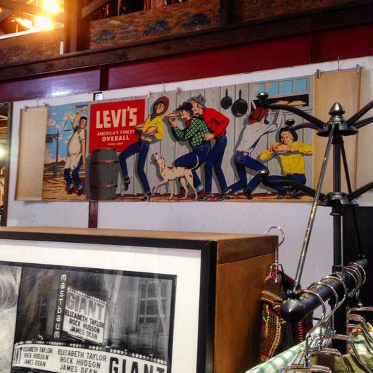 LEVI'S 50'S BANNER