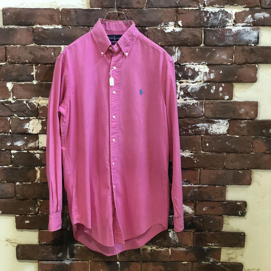 RALPH LAUREN COTTON B/D SHIRT