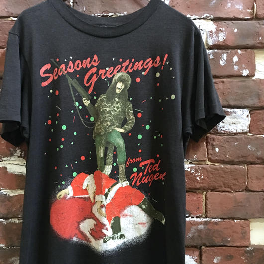 80S TED NUGENT BAND TEE