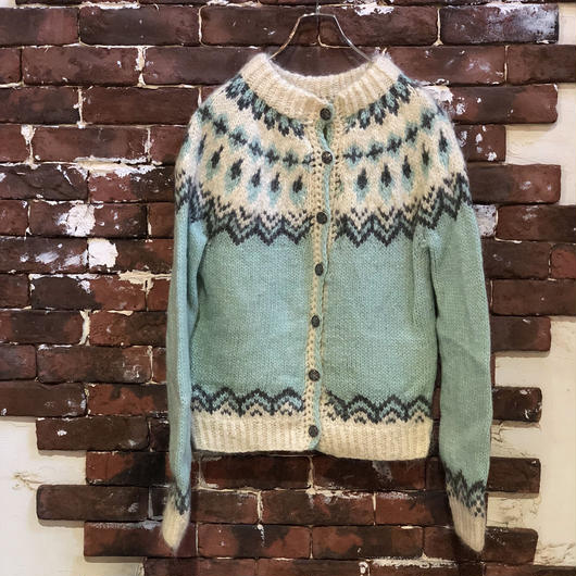 LADIES NORDIC CARDIGAN