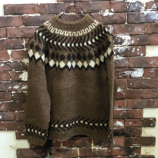 OLD HAND KNIT