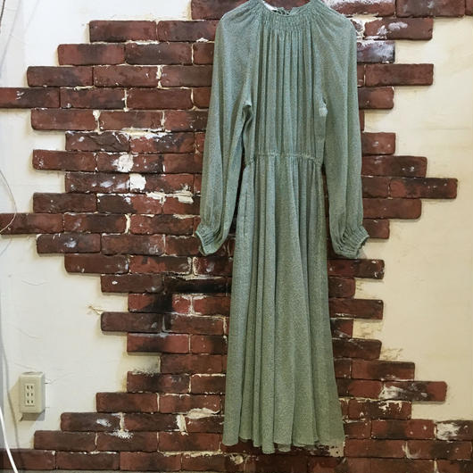 VINTAGE LADIES L/S DRESS