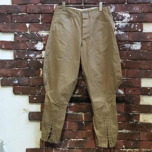 30~40s US ARMY METAL CHINO Jodhpurs PANTS
